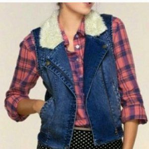 Anthro Daughters of Liberation Lapka Sherpa Vest M